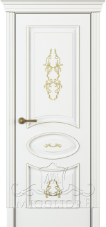 FLEURANS PALE ROYAL ML063 G BIANCO PATINATO ORO