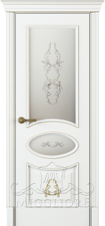 FLEURANS PALE ROYAL ML063 V-A-2 BIANCO PATINATO ORO