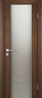 Межкомнатная дверь CITY STILE URBANO MK012 V ШПОН АМЕРИКАНСКОГО ОРЕХА ТОНИРОВАННЫЙ