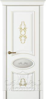 FLEURANS PALE ROYAL ML063 V-A BIANCO PATINATO ORO