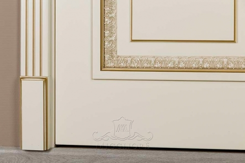 FLEURANS PALE ROYAL ML034 V-R BIANCO PATINATO ORO