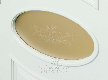 FLEURANS PALE ROYAL ML061 V-B-2 BIANCO