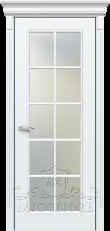 Межкомнатная дверь FLEURANS SHATO MLN016 V-10 BIANCO