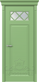 Межкомнатная дверь FLEURANS SHATO MLN021 V RAL 6021
