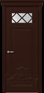 Межкомнатная дверь FLEURANS SHATO MLN021 V RAL 8017
