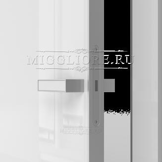 GLOSS 10 G Глянец, BIANCO, алюминиевая кромка и алюминиевый  короб