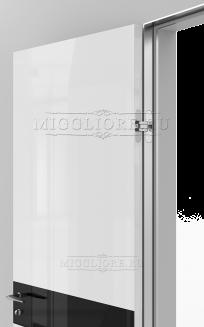 GLOSS 11 G Глянец, BIANCO, алюминиевый  короб, вставка - эмаль