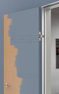 INVISIBLE SKLAD под покраску, открывание НА СЕБЯ, короб алюминиевый