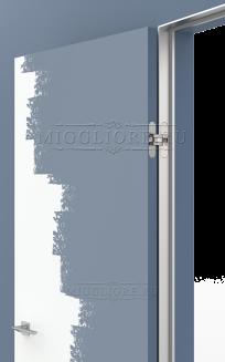 LINEA RETTA MRD010 под покраску открывание OUT короб алюминиевый