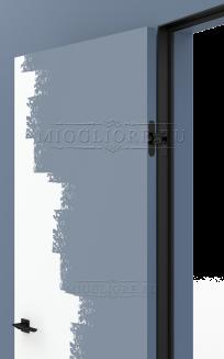 LINEA RETTA MRD010 под покраску открывание OUT короб алюминиевый черный