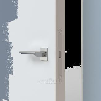 LINEA RETTA MRDA010 под покраску с алюминиевой кромкой открывание OUT короб алюминиевый