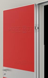 LINEA RETTA MRDA0183 G с алюминиевой кромкой Красная азалия