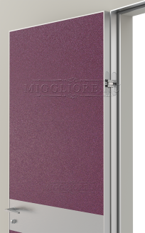 LINEA RETTA MRDA0183 G с алюминиевой кромкой Пурпурная роза
