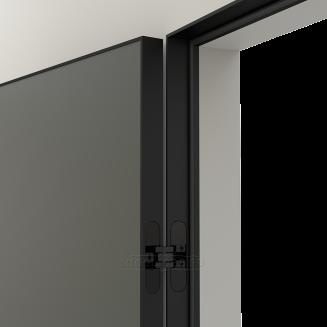 LINEA RETTA MRDA083 V с алюминиевой черной кромкой Серый