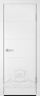 Межкомнатная дверь NORDIK 1.0 G BIANCO PERLA