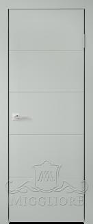 Межкомнатная дверь NORDIK 1.0 G GRIGIO SETA