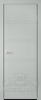 Межкомнатная дверь NORDIK 1.1 G GRIGIO SETA