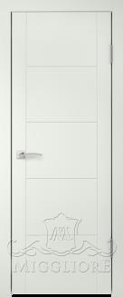Межкомнатная дверь NORDIK 2.0 G BIANCO SETA