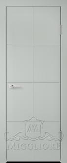 Межкомнатная дверь NORDIK 3.0 G GRIGIO SETA