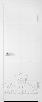 Межкомнатная дверь NORDIK 3.1 G BIANCO PERLA