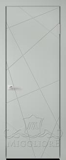 Межкомнатная дверь NORDIK 5.1 G GRIGIO SETA