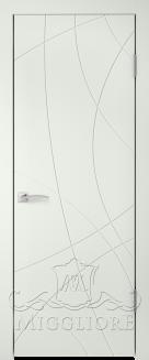 Межкомнатная дверь NORDIK 4.0 G BIANCO SETA