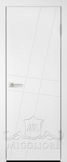 Межкомнатная дверь NORDIK 4.1 G BIANCO PERLA