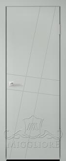 Межкомнатная дверь NORDIK 4.1 G GRIGIO SETA