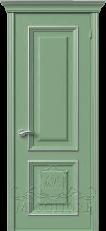 Межкомнатная дверь PROVENZA 1 G FRASSINO FISTASHKA PATINATO ARGENTO