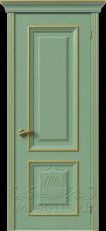 Межкомнатная дверь PROVENZA 1 G FRASSINO FISTASHKA PATINATO ORO