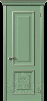 Межкомнатная дверь PROVENZA 1 G FRASSINO FISTASHKA PATINATO PLATINO