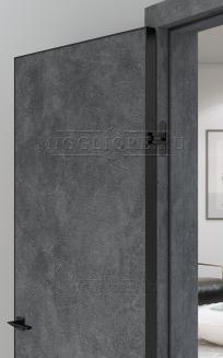 QUADRO 9.01 G алюминиевая чёрная кромка LOFT GRAFITE