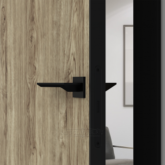 QUADRO 9.03 G чёрный алюминиевый декор+чёрная алюминиевая кромка DUB MELFORD +ANTRACIT