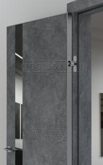 QUADRO 9.05 алюминиевая кромка Графит V-зеркало Графит LOFT GRAFITE