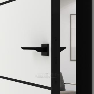 QUADRO 9.12 G чёрный алюминиевый молдинг+чёрная алюминиевая кромка SILK ICE +ANTRACIT