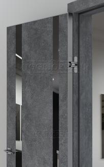 QUADRO 9.15 алюминиевая кромка Графит V-зеркало Графит LOFT GRAFITE