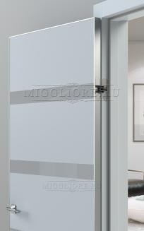QUADRO 9.16 алюминиевая кромка V-лакобель серый LIGHT GREY