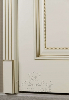 FLEURANS PALE ROYAL ML032 V-B BIANCO PATINATO ORO